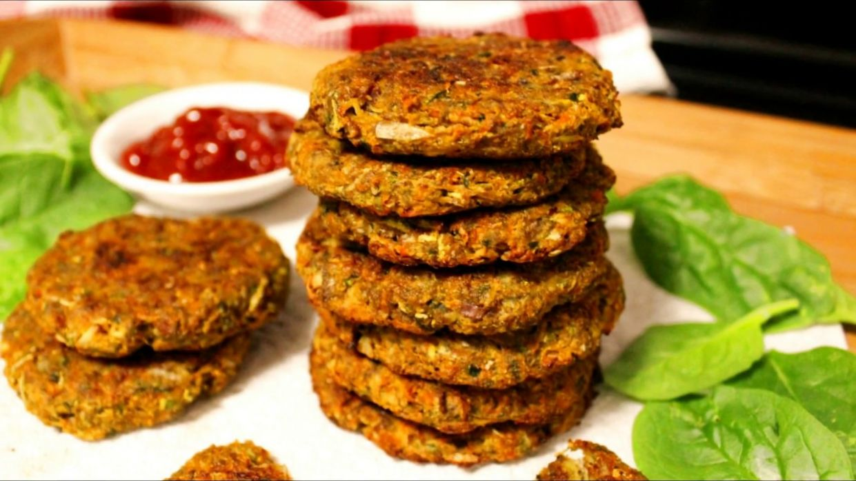 Baked Vegetable Patties Recipe (Vegan & Grain-free) | Vegan Patties | How  to make Vegetable Patty - Recipes Vegetarian Patties