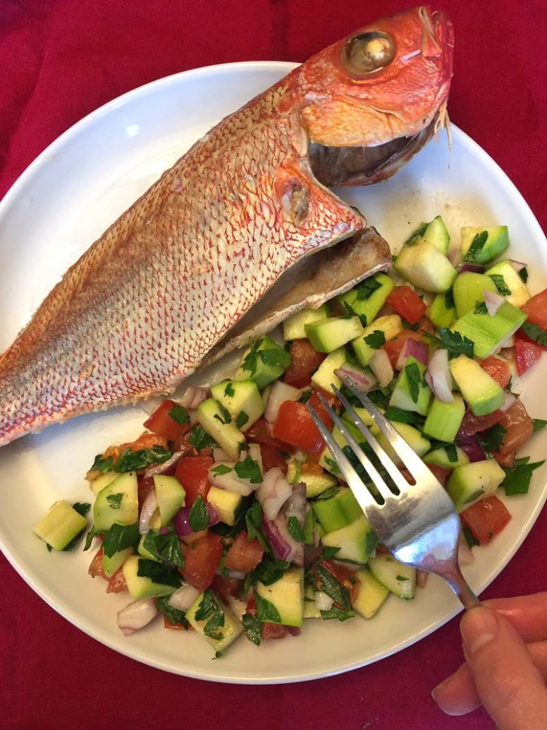 Baked Whole Red Snapper - Recipes Red Fish