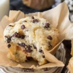 Bakery Style Chocolate Chip Muffins – Recipes Chocolate Chip Muffins
