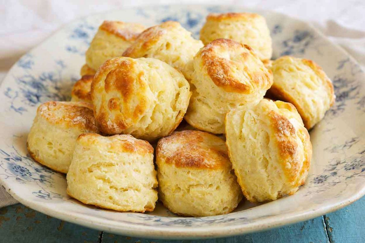Baking Powder Biscuits - Simple Recipes With Flour