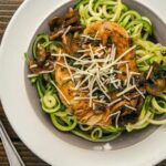 Balsamic Chicken With Garlic Zucchini Noodles – Recipe Chicken Zucchini Pasta