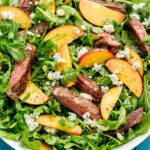 Balsamic Grilled Steak Salad With Peaches – Summer Recipes Delish