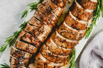 Balsamic Roast Pork Tenderloin