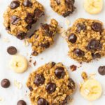Banana Oatmeal Cookies With Chocolate Chips – Healthy Recipes Cookies