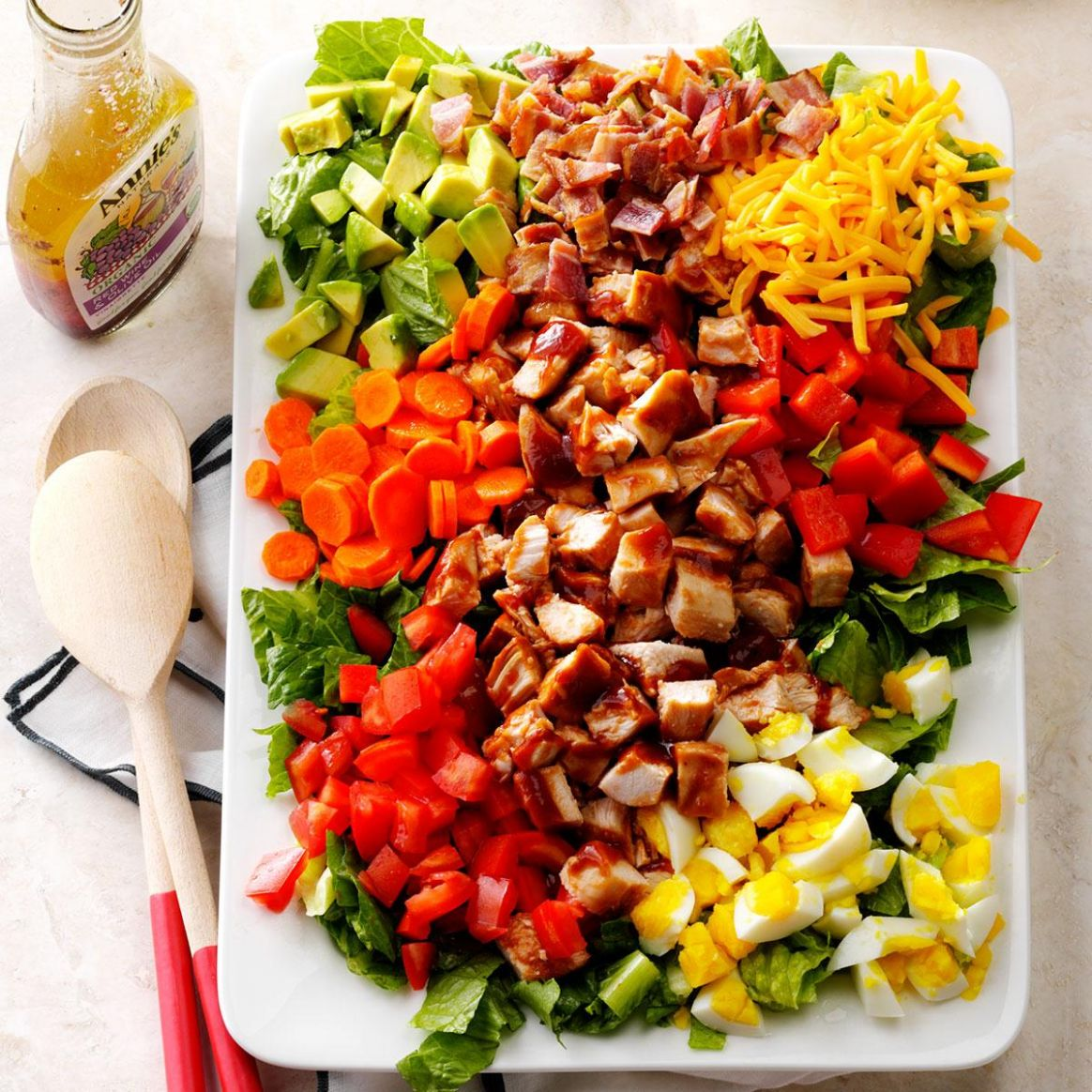 Barbecue Chicken Cobb Salad - Salad Recipes For Bbq