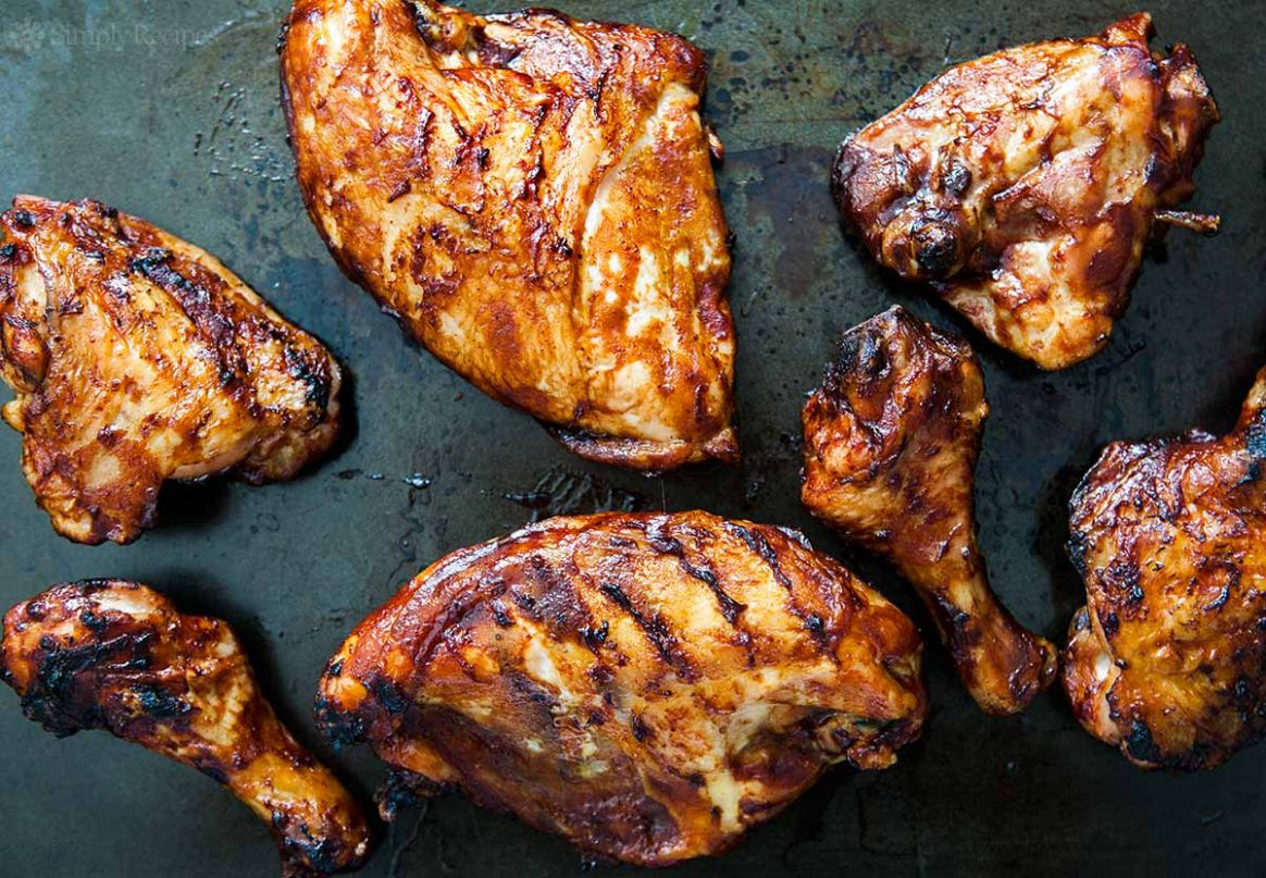 Barbecued Chicken on the Grill - Recipes Chicken On The Bbq
