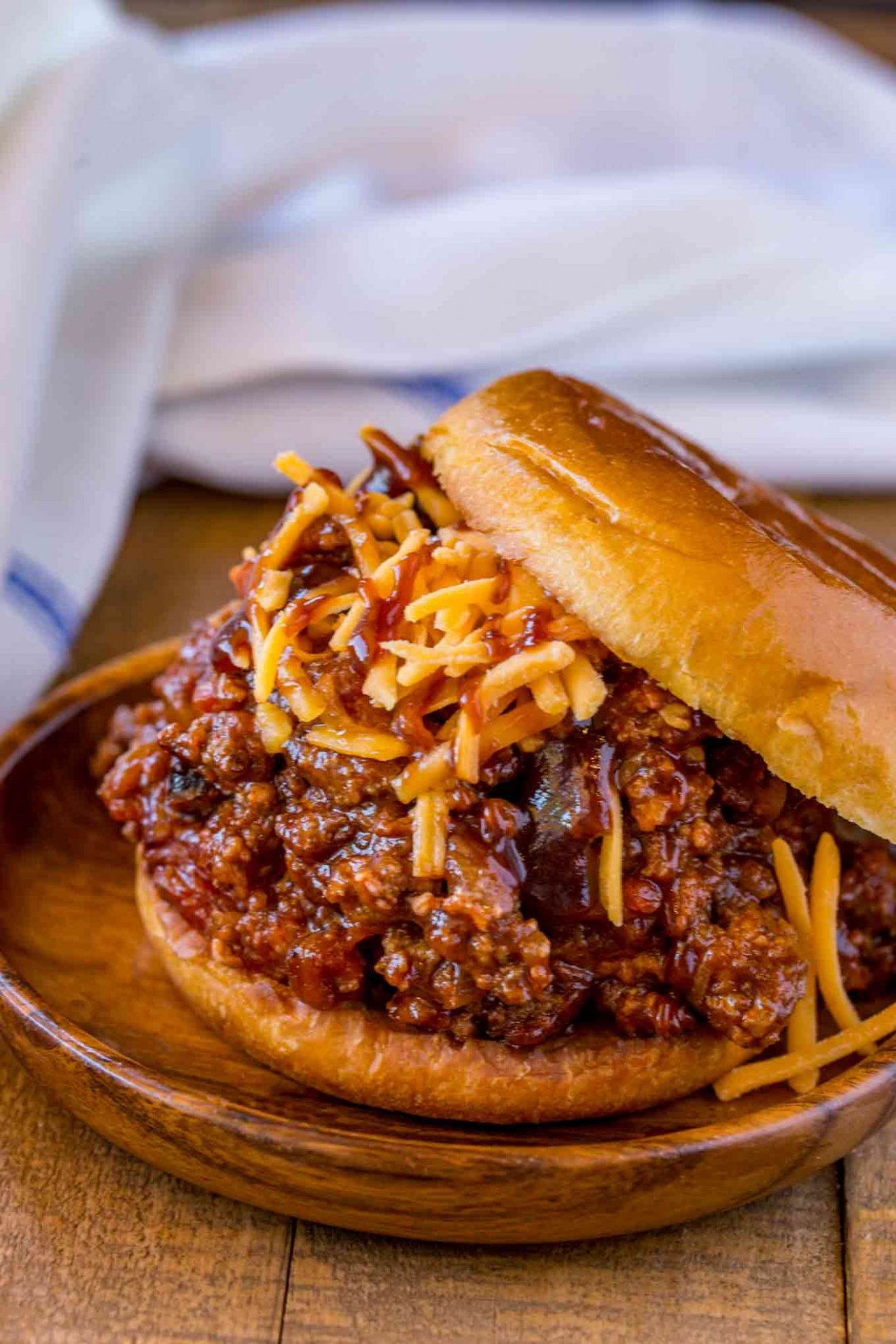 BBQ Beef Sloppy Joes - Dinner, then Dessert - Summer Recipes Minced Beef