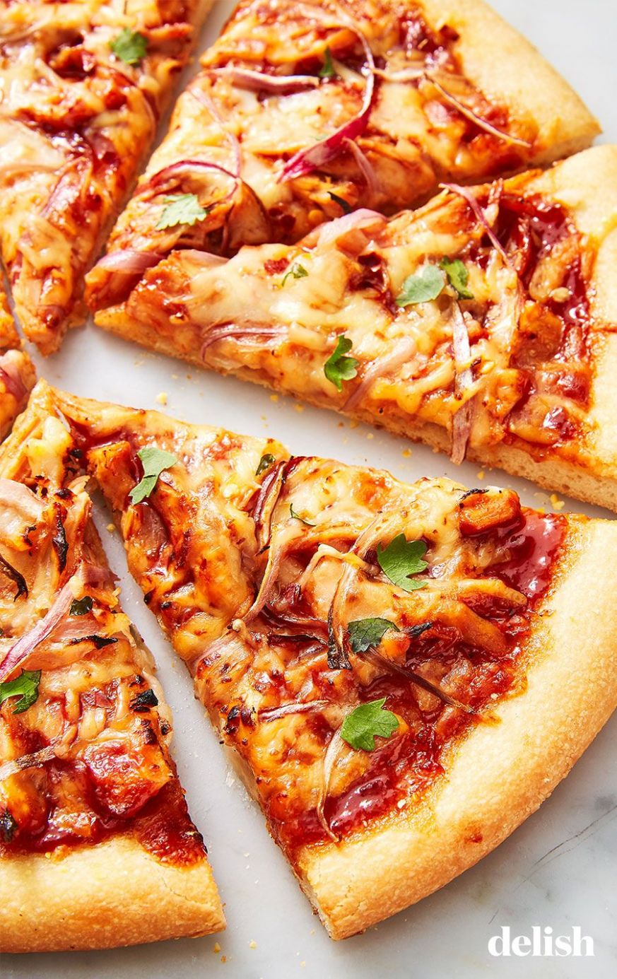 BBQ Chicken Pizza - Pizza Recipes At Home