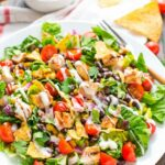 BBQ Chicken Salad Recipe — This Healthy Salad Is So Quick And Easy ..