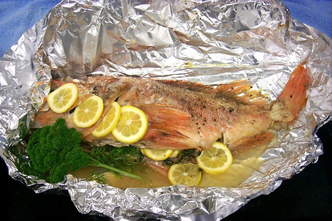 BBQ Whole Fish | United Fisheries - Recipe Fish On The Grill In Foil