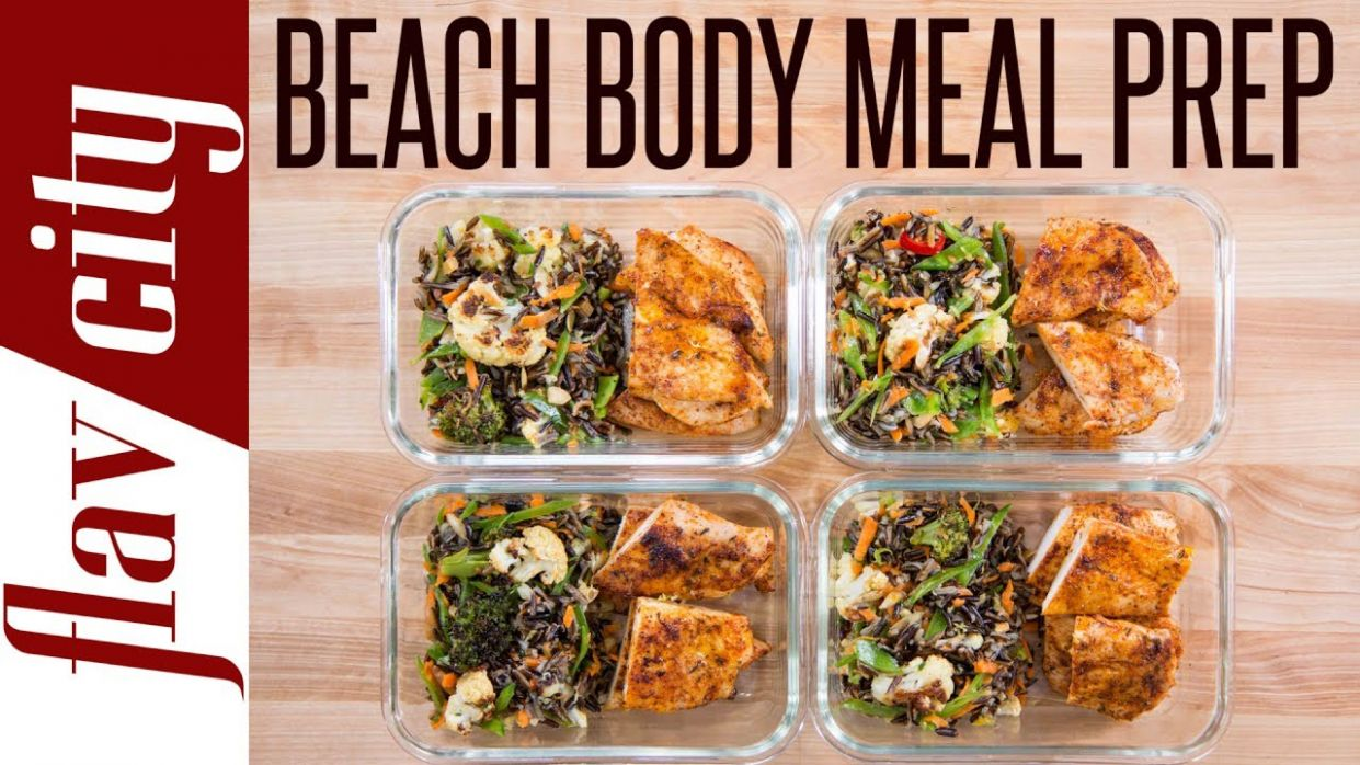 Beach Body Meal Prep - Tasty Weight Loss Recipes With Chicken Breasts - Quick Healthy Recipes Weight Loss