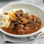 Beef & Mushroom Braised Stew – Recipes With Beef Cubes