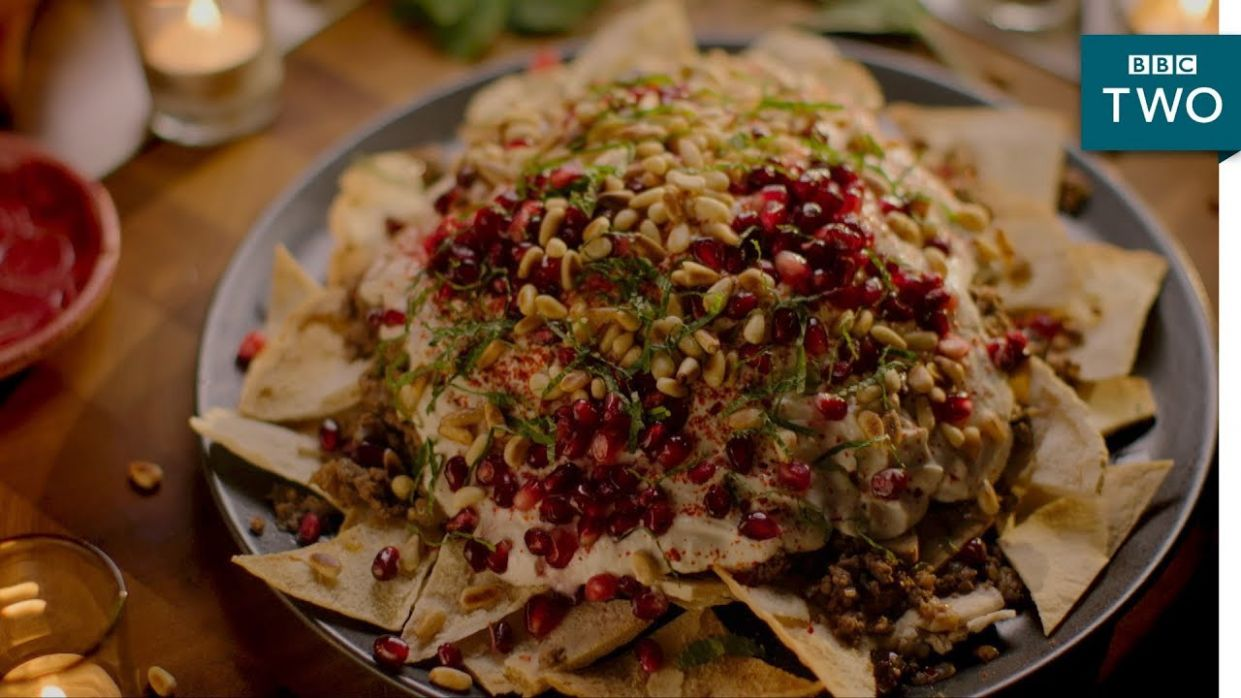 Beef and Aubergine Fatteh - Nigella: At My Table | Episode 11 - BBC Two - Beef Recipes Nigella