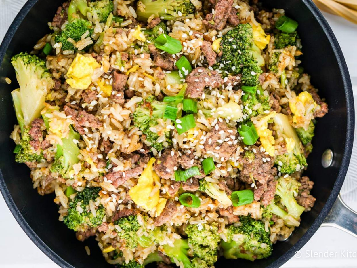 Beef and Broccoli Fried Rice - Recipes Beef Fried Rice