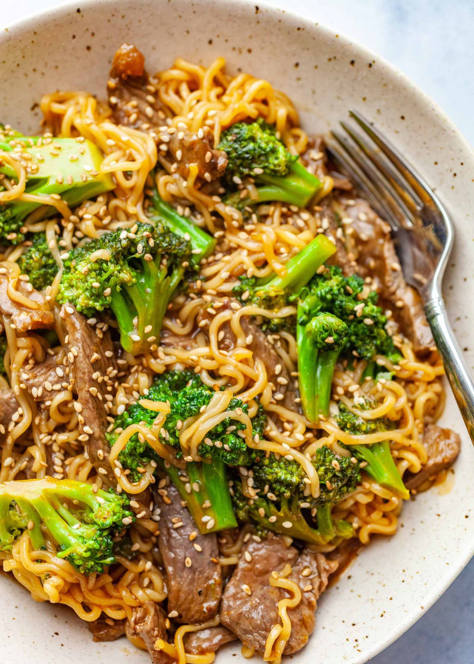 Beef and Broccoli Ramen Stir Fry - Simple Recipes Ramen Noodles