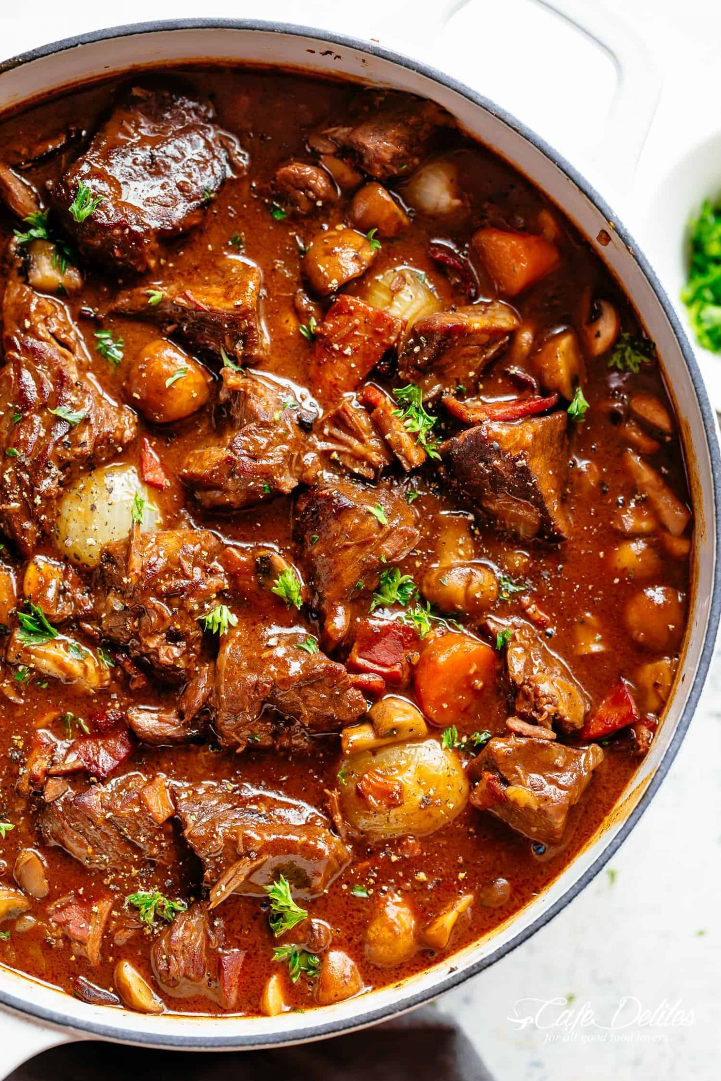 Beef Bourguignon - Recipes With Beef Cubes