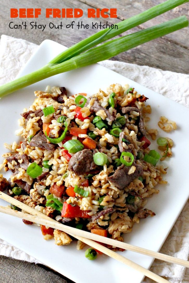 Beef Fried Rice - Recipes Beef Fried Rice