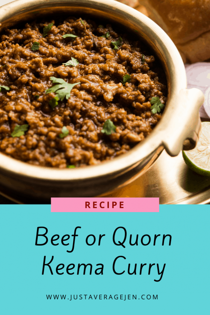 Beef or Quorn Keema Curry - Quorn Recipes For Weight Loss