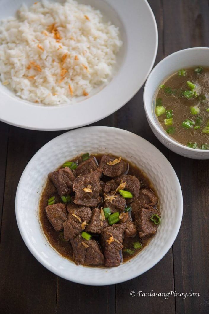 Beef Pares Recipe - Beef Recipes Pinoy