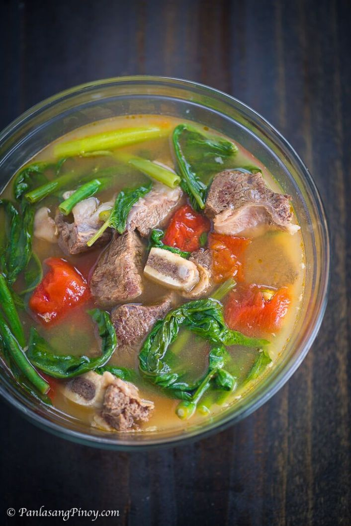 Beef Short Rib Sinigang Na May Pakwan