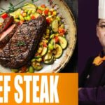 Beef Steak | Zakir's Kitchen With Chef Zakir | 9 July 9 | Dawn News – Beef Recipes By Chef Zakir In Urdu