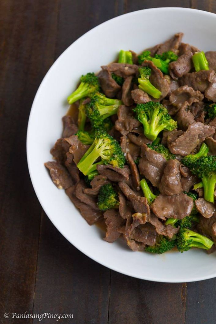 Beef with Broccoli - Beef Recipes Pinoy
