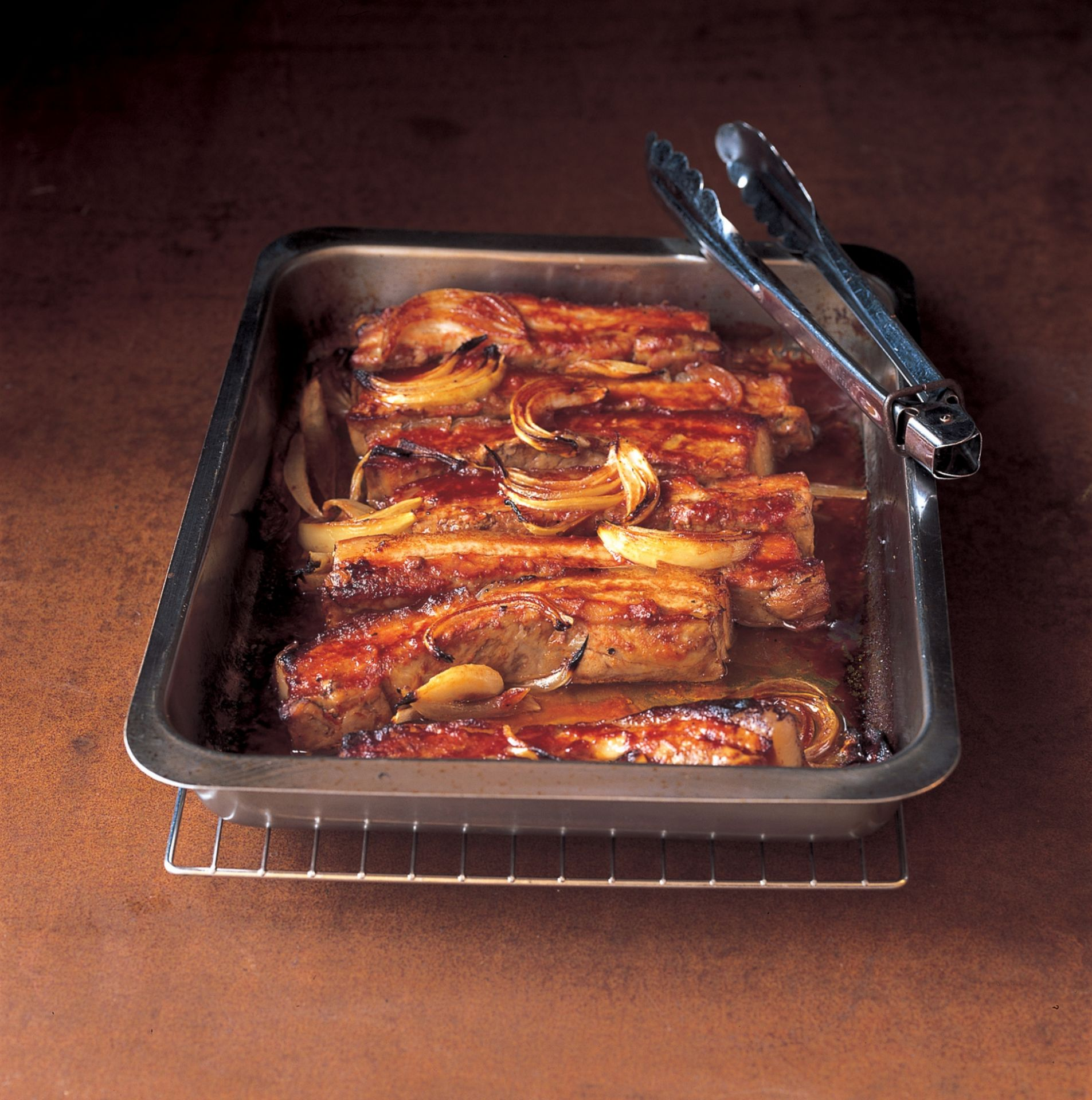 Belly Pork Strips in Barbecue Sauce - Belly Pork Recipes Quick