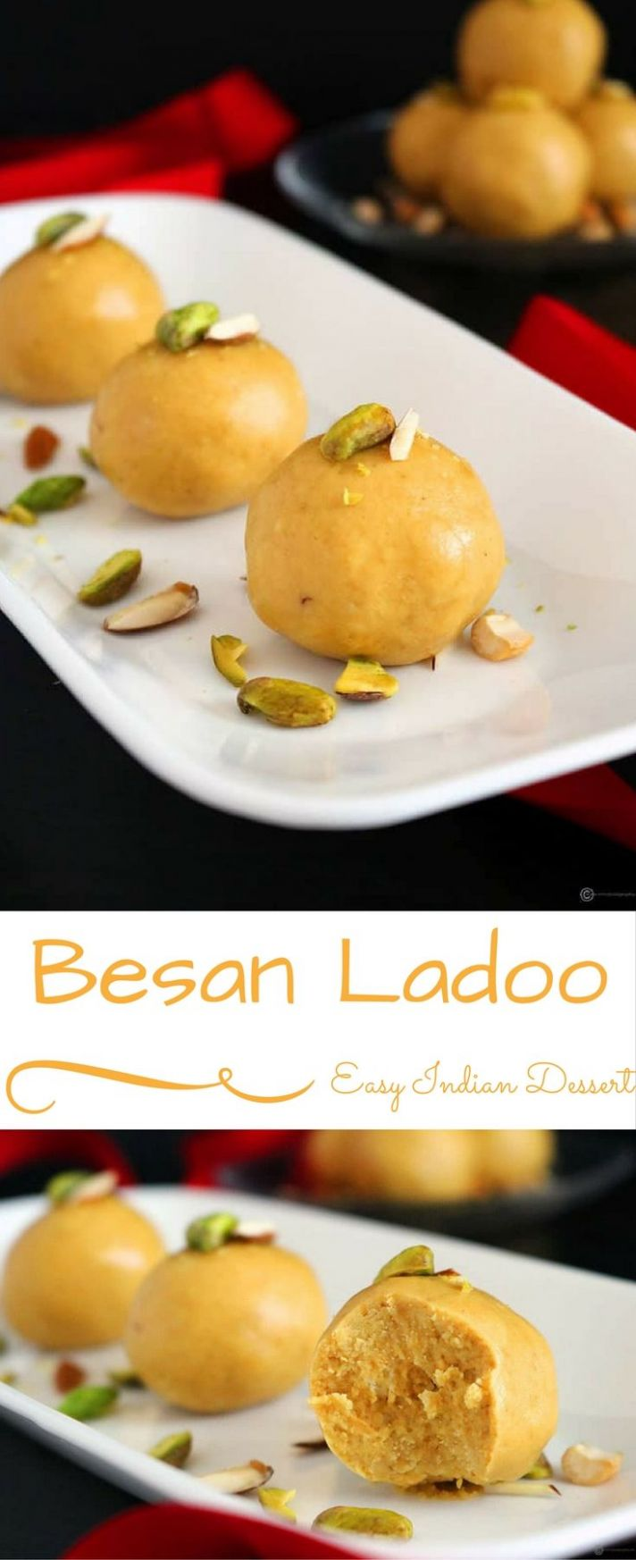 Besan Ladoo - Dessert Recipes Easy Indian