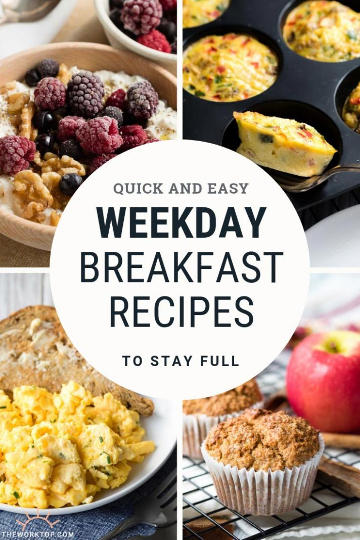 Best 10+ Weekday Breakfast Ideas and Recipes | The Worktop - Breakfast Recipes Quick