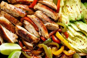 Best Chicken Fajitas - Cafe Delites