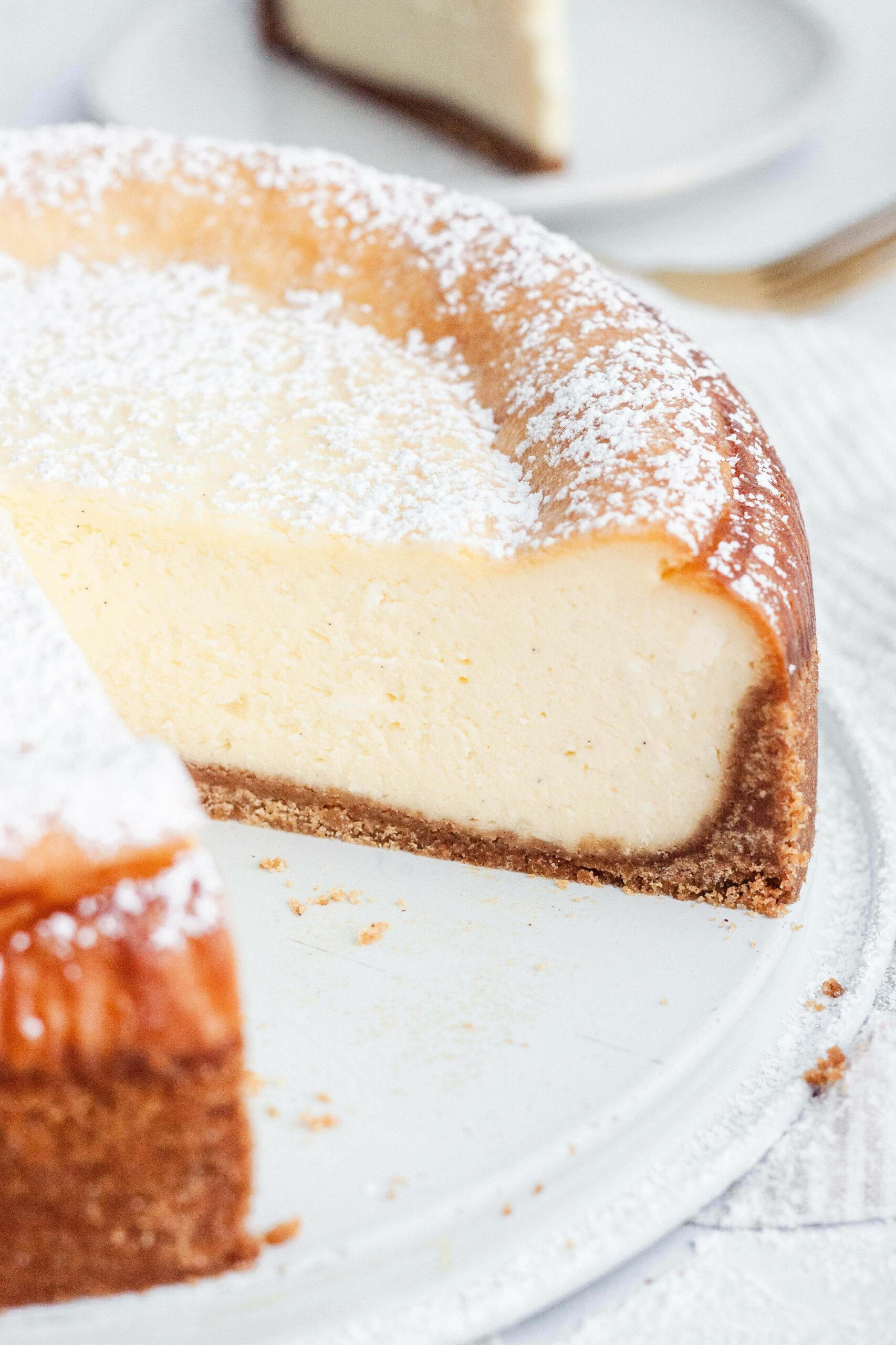 BEST EVER New York Cheesecake Recipe (WITH VIDEO!) - Simple Recipes New York Cheesecake