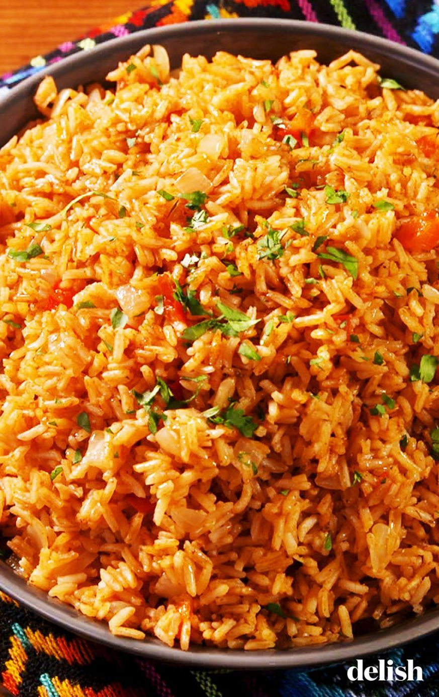 Best-Ever Spanish Rice - Rice Recipes Delish