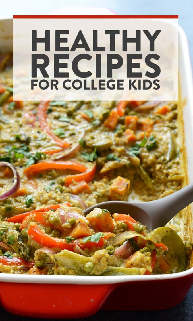 Best Healthy College Meals (budget-friendly) - Fit Foodie Finds - Easy Recipes College Students