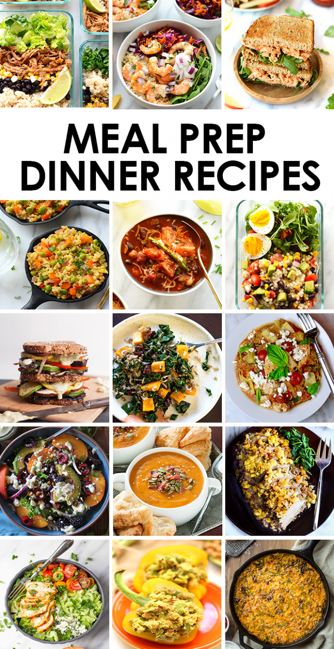 Best Meal Prep Recipes: Dinners | Fit Foodie Finds - Dinner Recipes Meal Prep