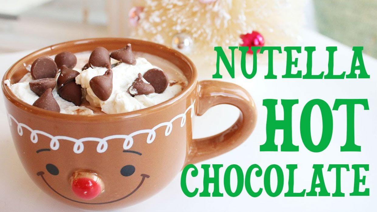 Best Nutella Hot Chocolate Recipe - Chocolate Recipes Youtube