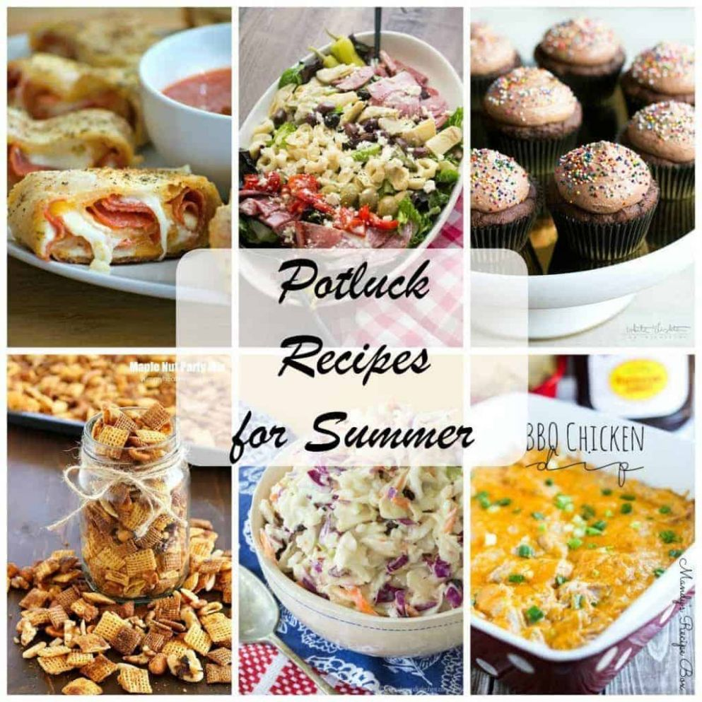 Best Potluck Recipes for Summer - That Skinny Chick Can Bake - Summer Recipes To Feed A Crowd