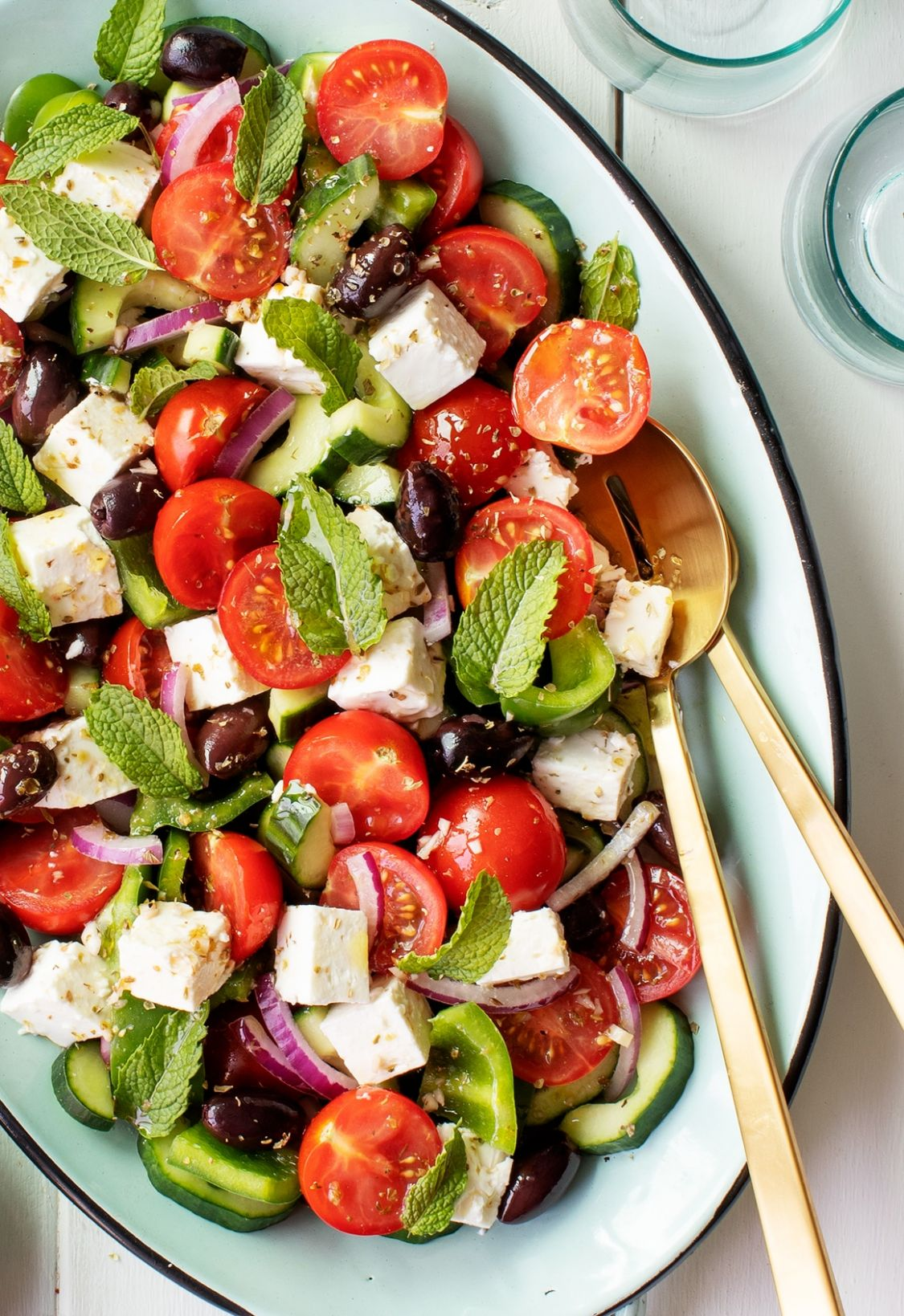 Best Salad Recipes: Easy Greek Salad - Salad Recipes You Can Make The Day Before