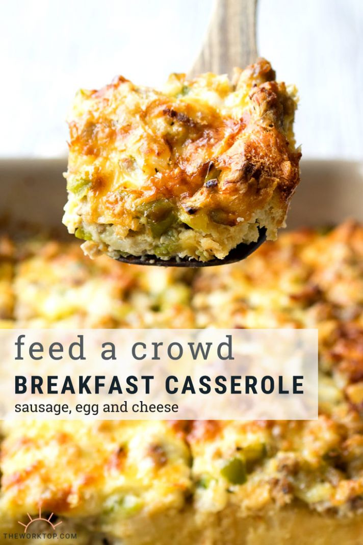 Best Sausage and Egg Breakfast Casserole (make ahead recipe) | The ..