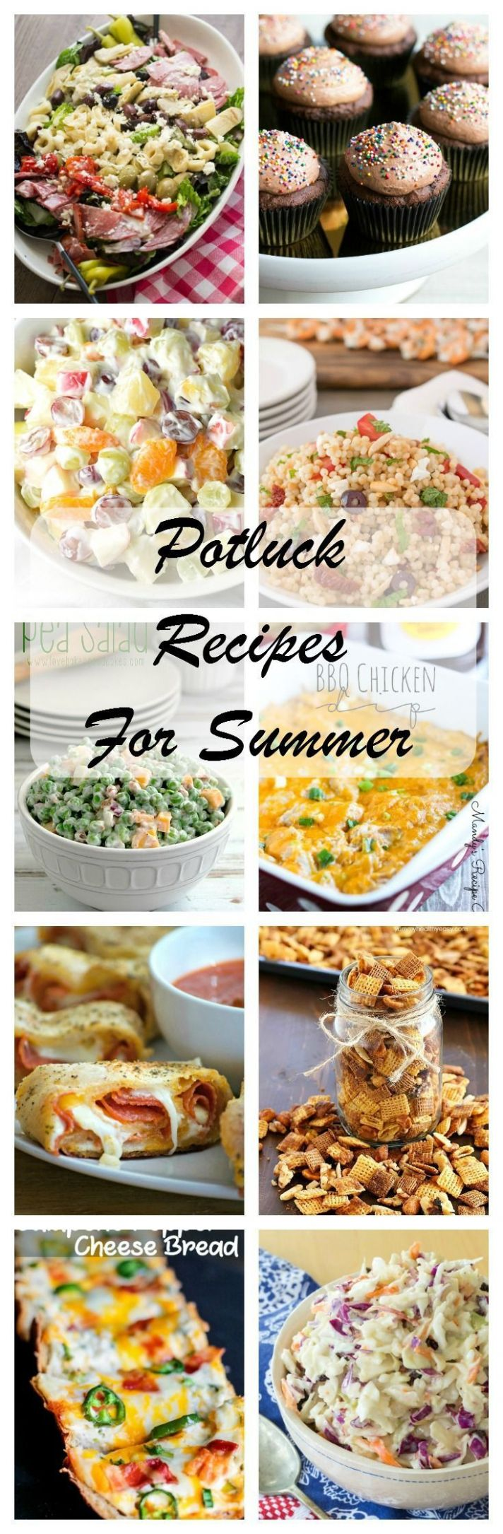 Best Summer Potluck Recipes to feed your crowd! Everything from ..