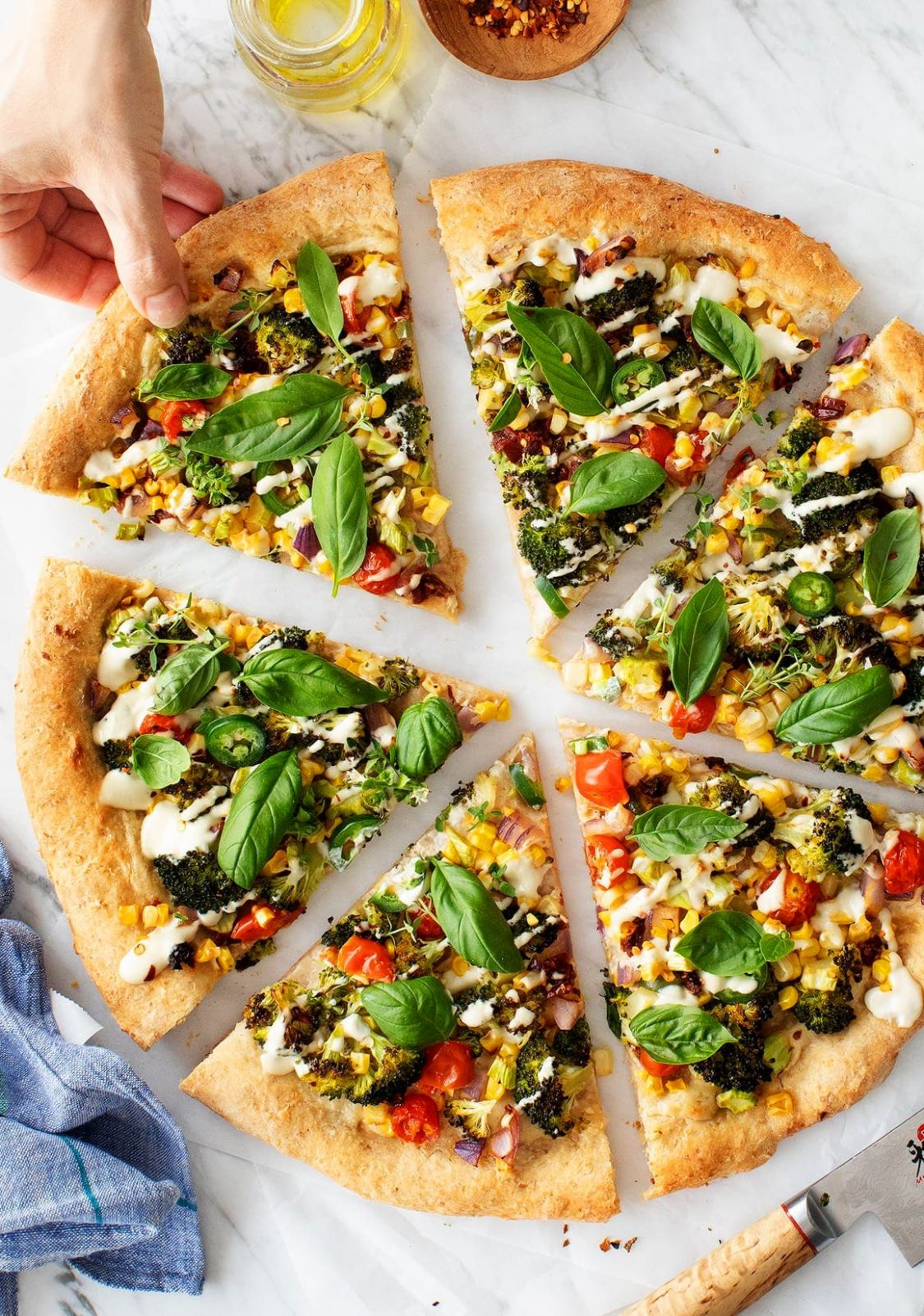 Best Vegan Pizza - Pizza Recipes Toppings Gourmet