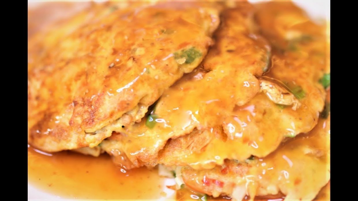 BETTER THAN TAKEOUT AND EASY - Egg Foo Young - Recipe Easy Egg Foo Young