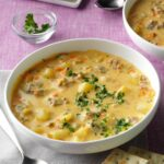 Big Batch Cheeseburger Soup – Soup Recipes Using Ground Beef