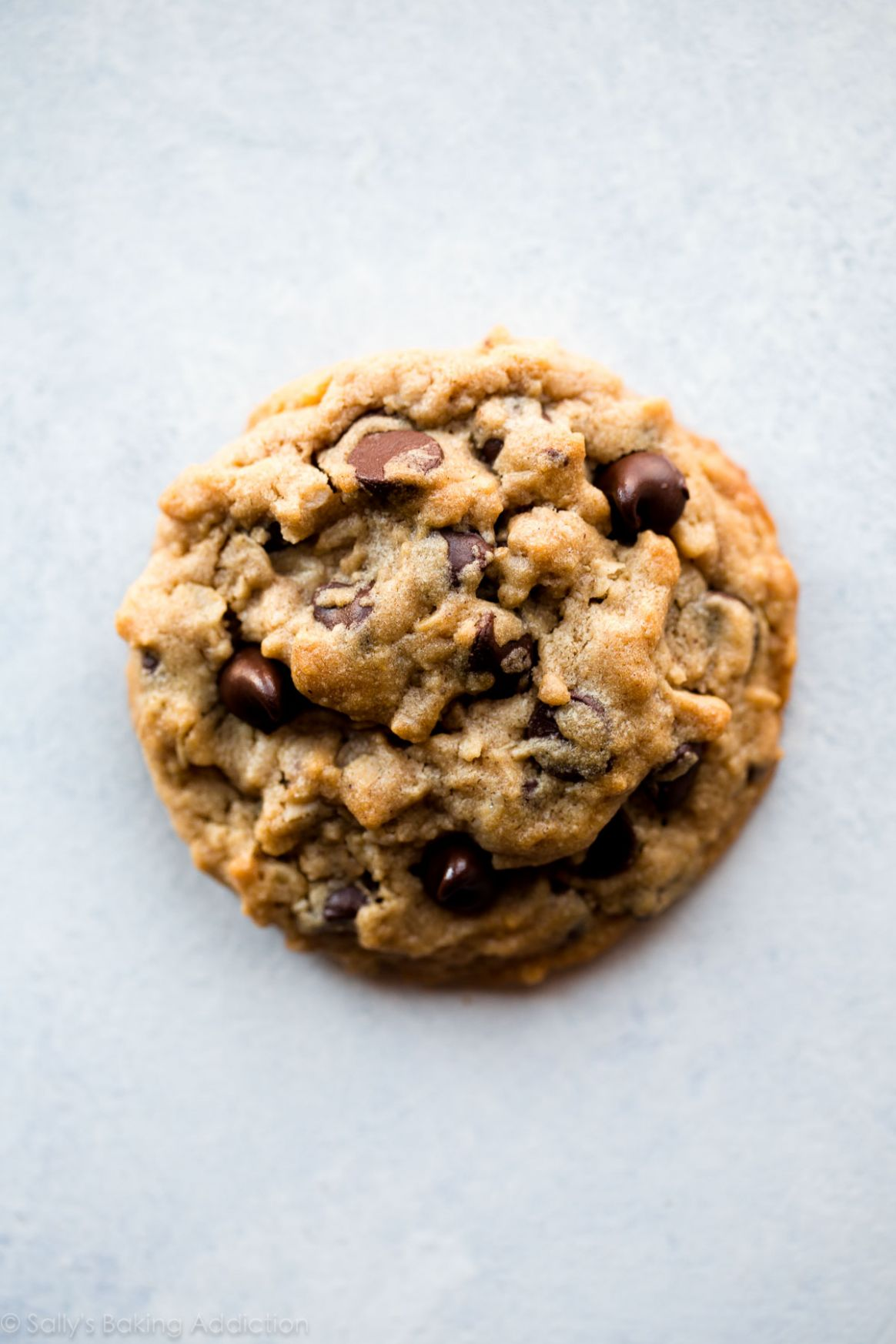Big Fat Peanut Butter Oatmeal Chocolate Chip Cookies - Recipe Chocolate Oatmeal Cookies