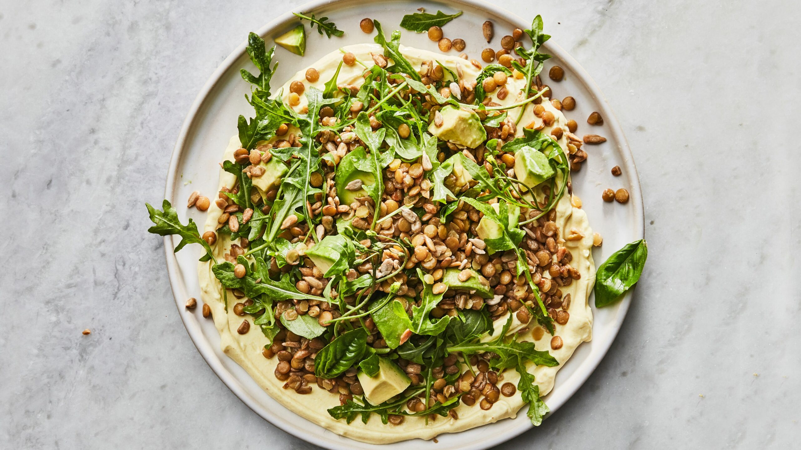 Big Green Lentil Salad - Salad Recipes Bon Appetit