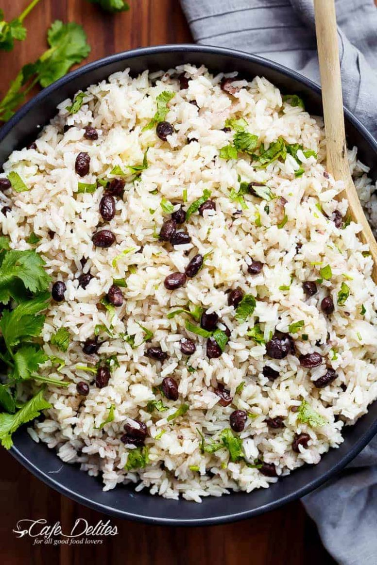 Black Beans & Rice Recipe - Cafe Delites - Recipes Rice And Black Beans