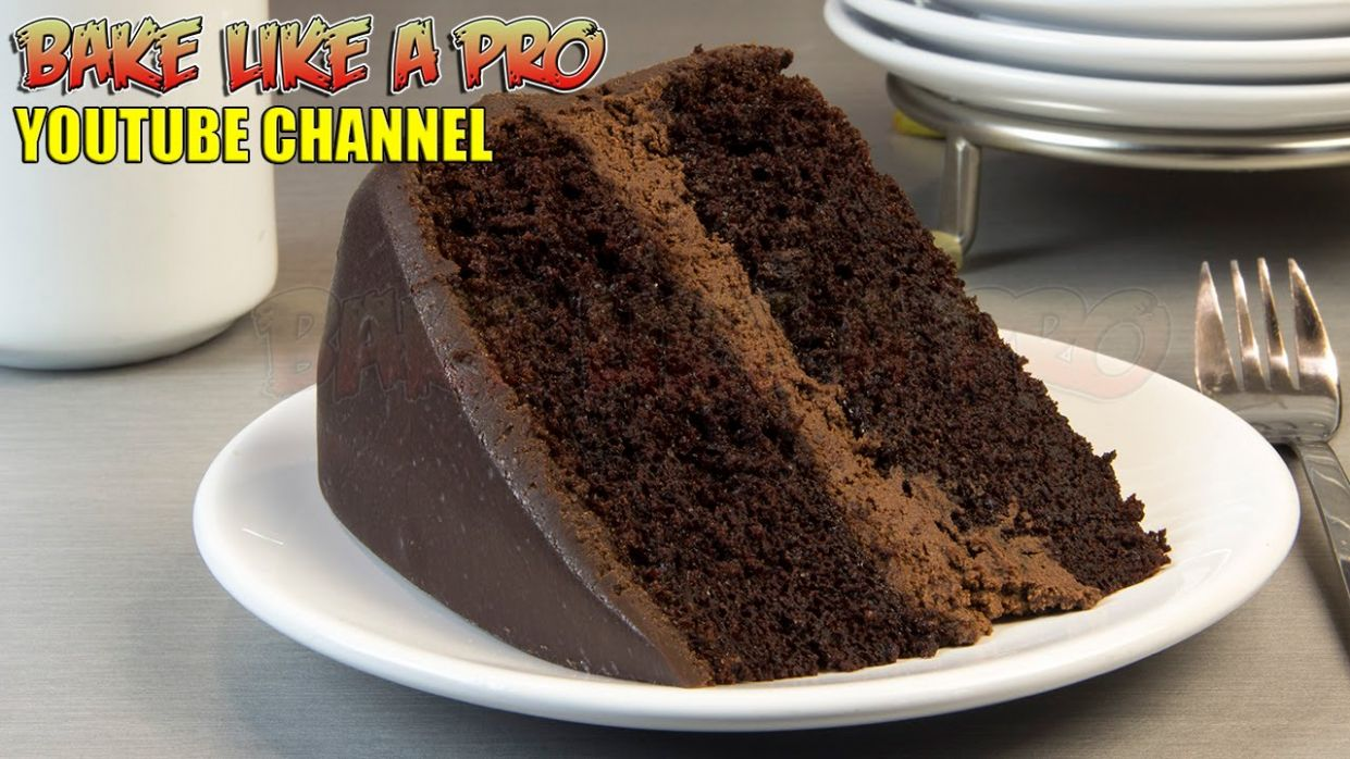 Black Magic Chocolate Cake Recipe !