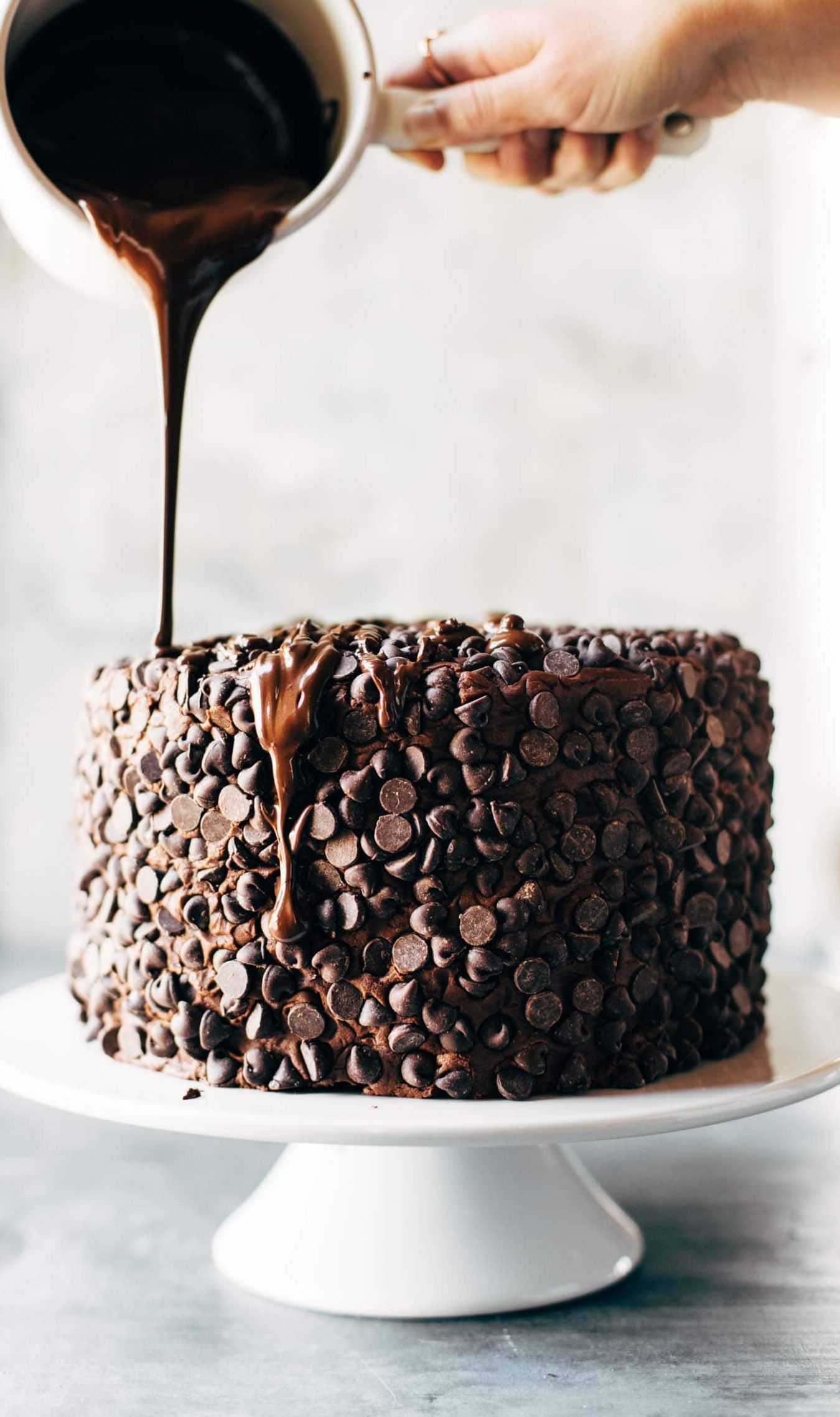 Blackout Chocolate Cake Recipe - Pinch of Yum - Cake Recipes Hard