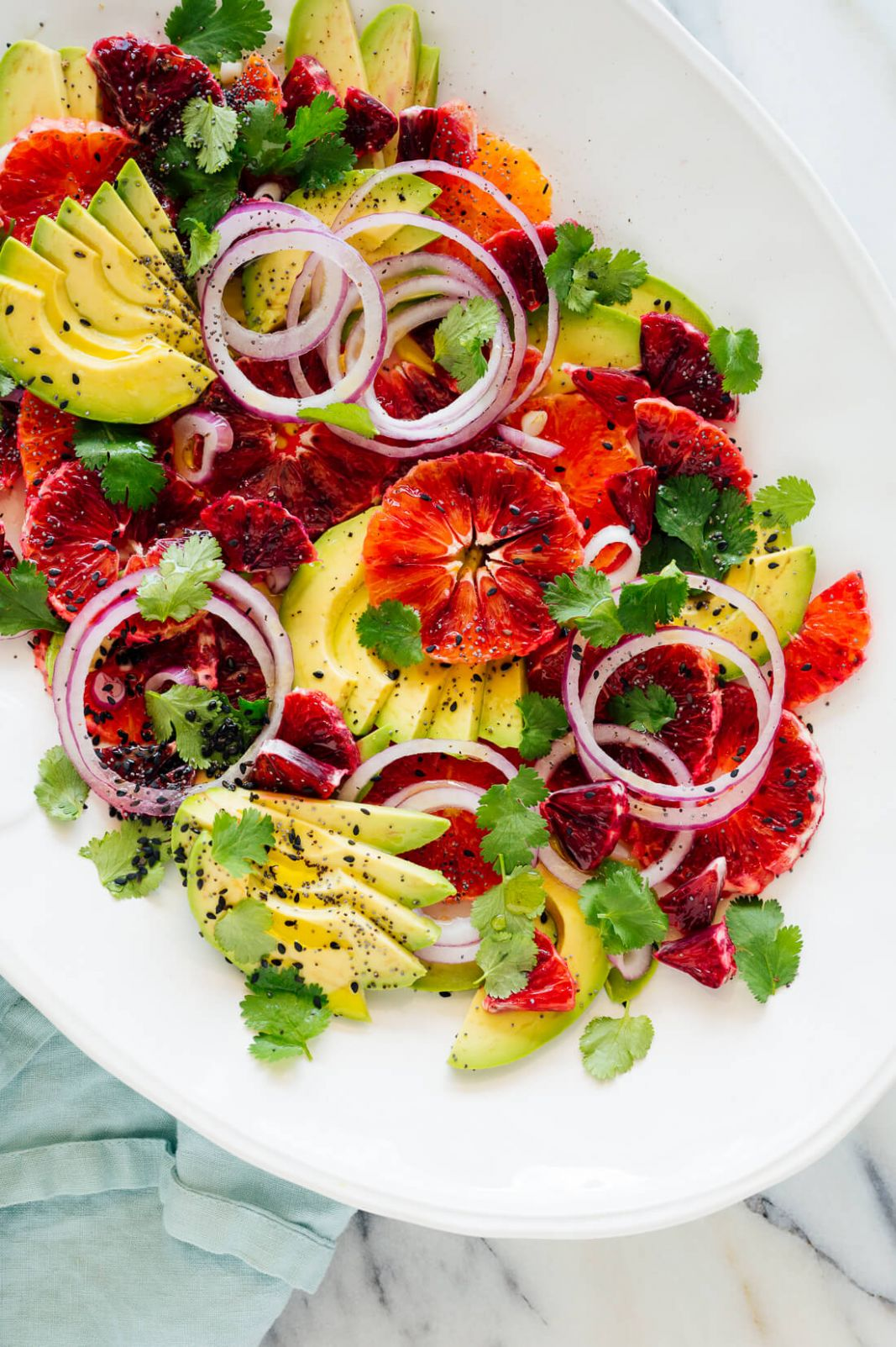 Blood Orange & Avocado Salad Recipe - Cookie and Kate