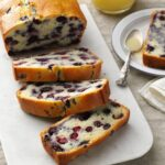 Blueberry Quick Bread With Vanilla Sauce – Food Recipes Quick Breads
