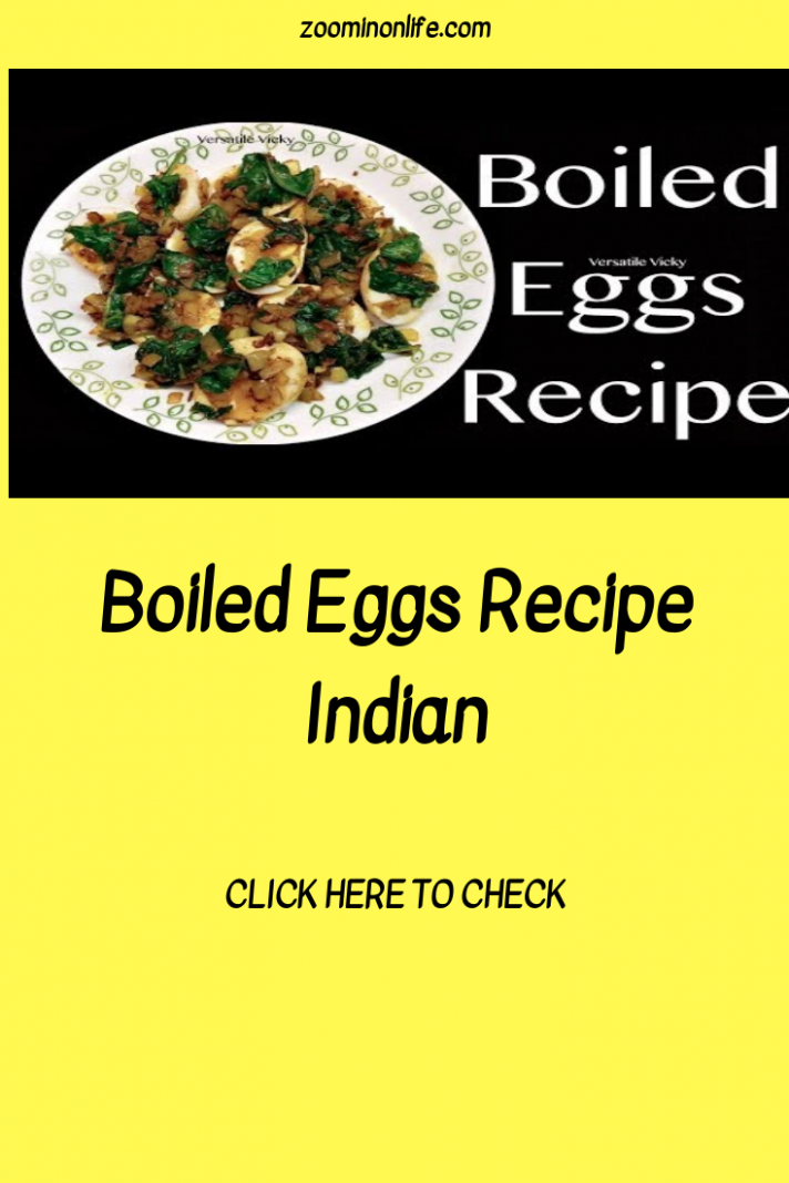 Boiled Eggs Recipe Indian | Egg recipes indian, Recipes, Boiled ..